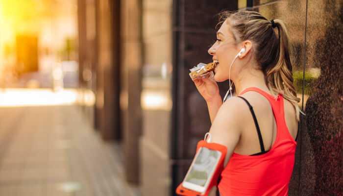 Qué comer antes de hacer running