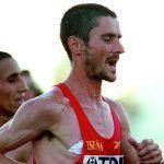martin fiz corriendo maratón