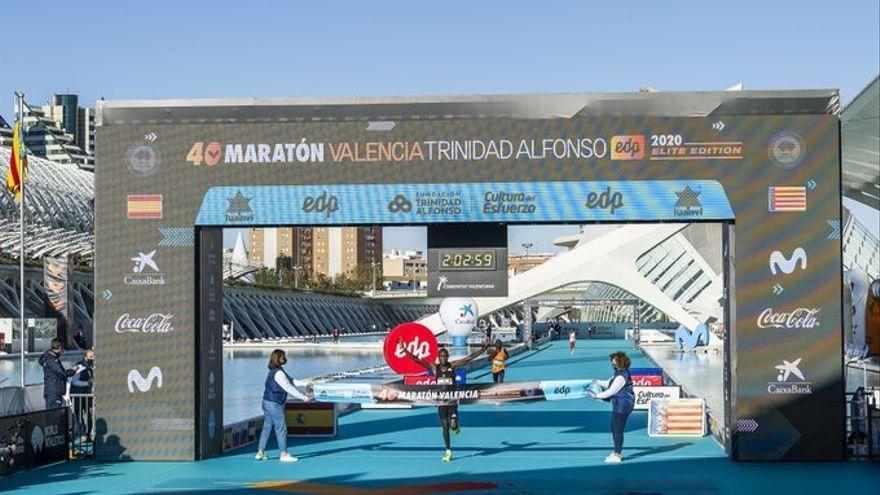 Récord del mundo Maratón Valencia 2020
