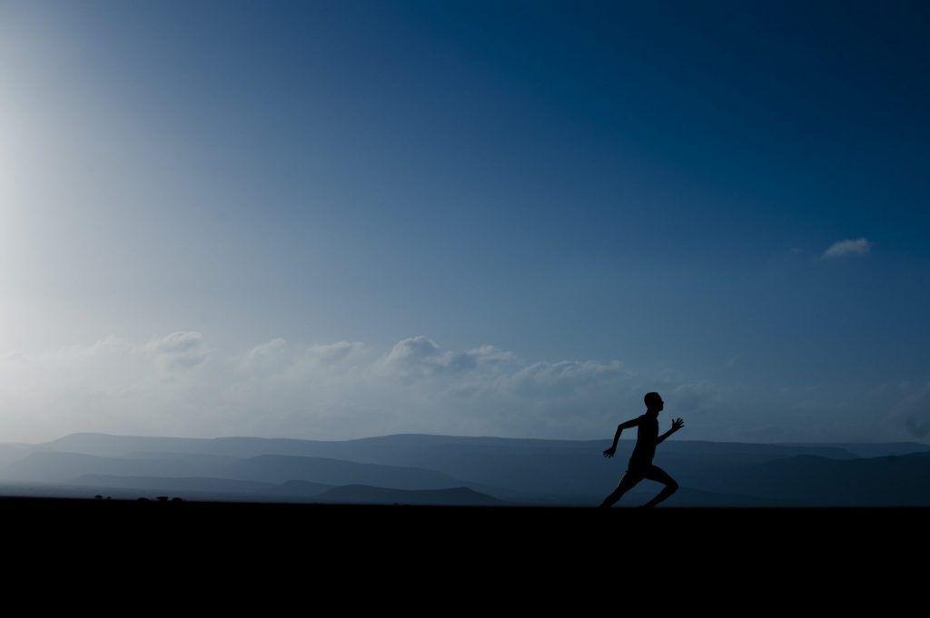 Correr en solitario