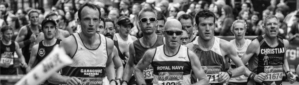 Runners durante una Maratón