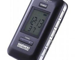 Radio de bolsillo Daewo